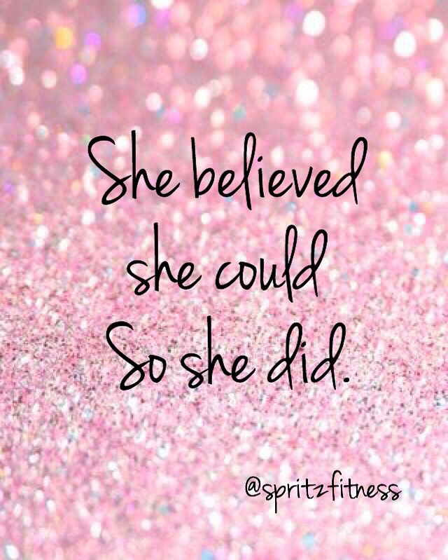 Cute Pink Glitter Wallpapers She Believed She Could So She Did Bible Verses And Quotes