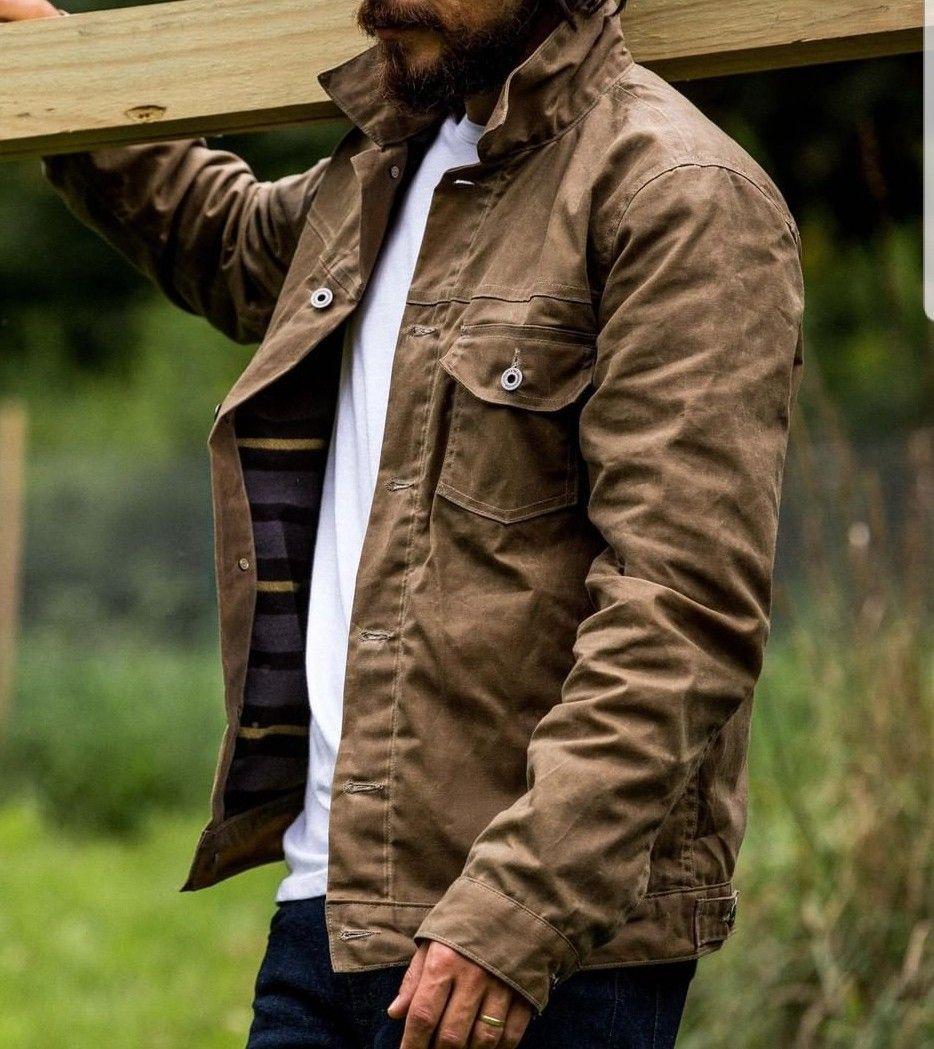 Pin By Maksim Kuzmin On Jakke Mens Outdoor Fashion Mens Fashion Chinos Trucker Jacket Men
