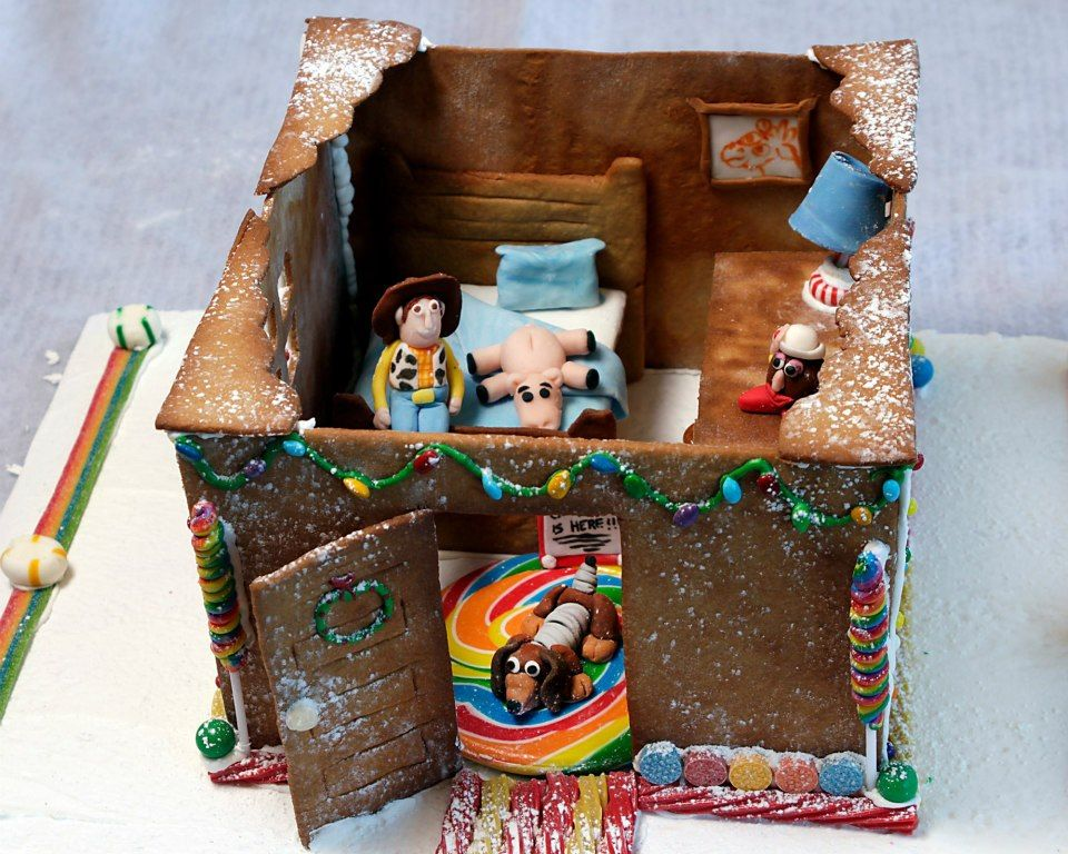 Owl Cafe Toy Story Gingerbread house
