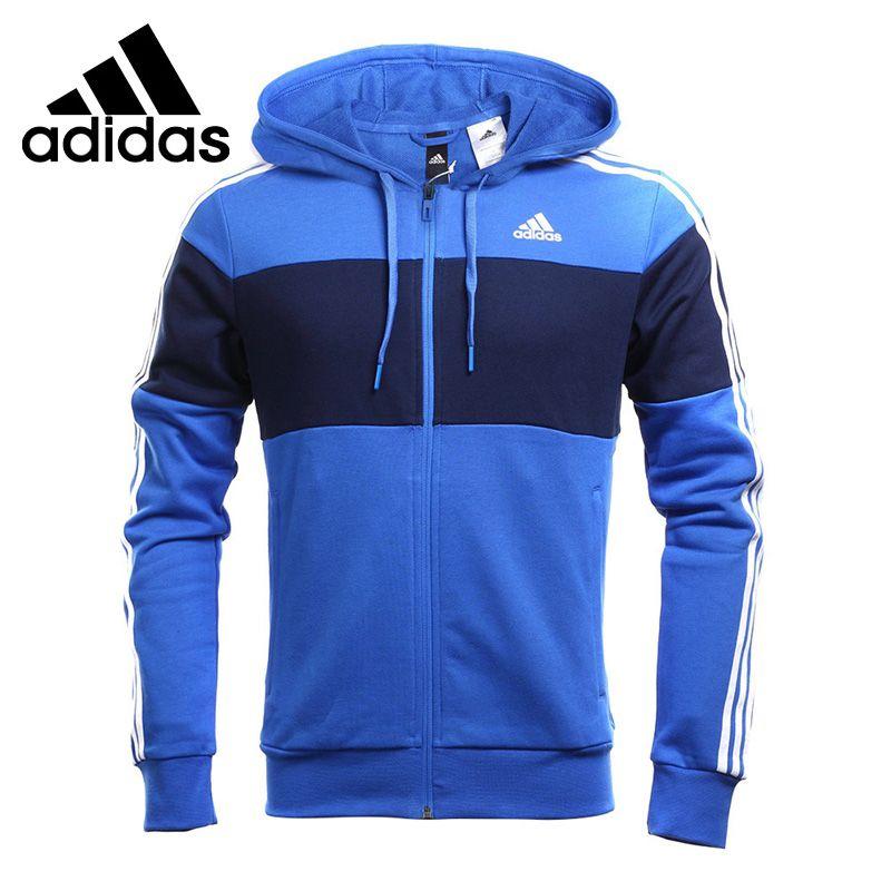 fibra Cuervo armario  Original New Arrival 2017 Adidas JKT KN CB FZ HD Men's Knitted jacket  Hooded Sportswear | Vestimenta hombre, Ropa adidas, Ropa