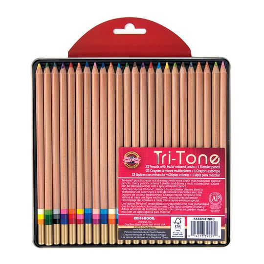 2020 的 Koh I Noor Tri Tone 24 Pencil Tin 主题