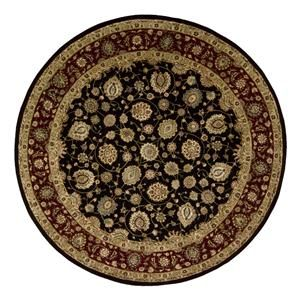 2000 2017 4 Round Black Area Rug Nebraska Furniture
