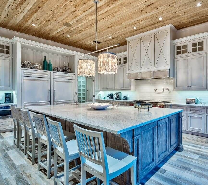 Best Coastal Kitchens Beach Decor Ideas For 2020 Coastal Kitchen Beach Kitchens Beach Inspired Decor
