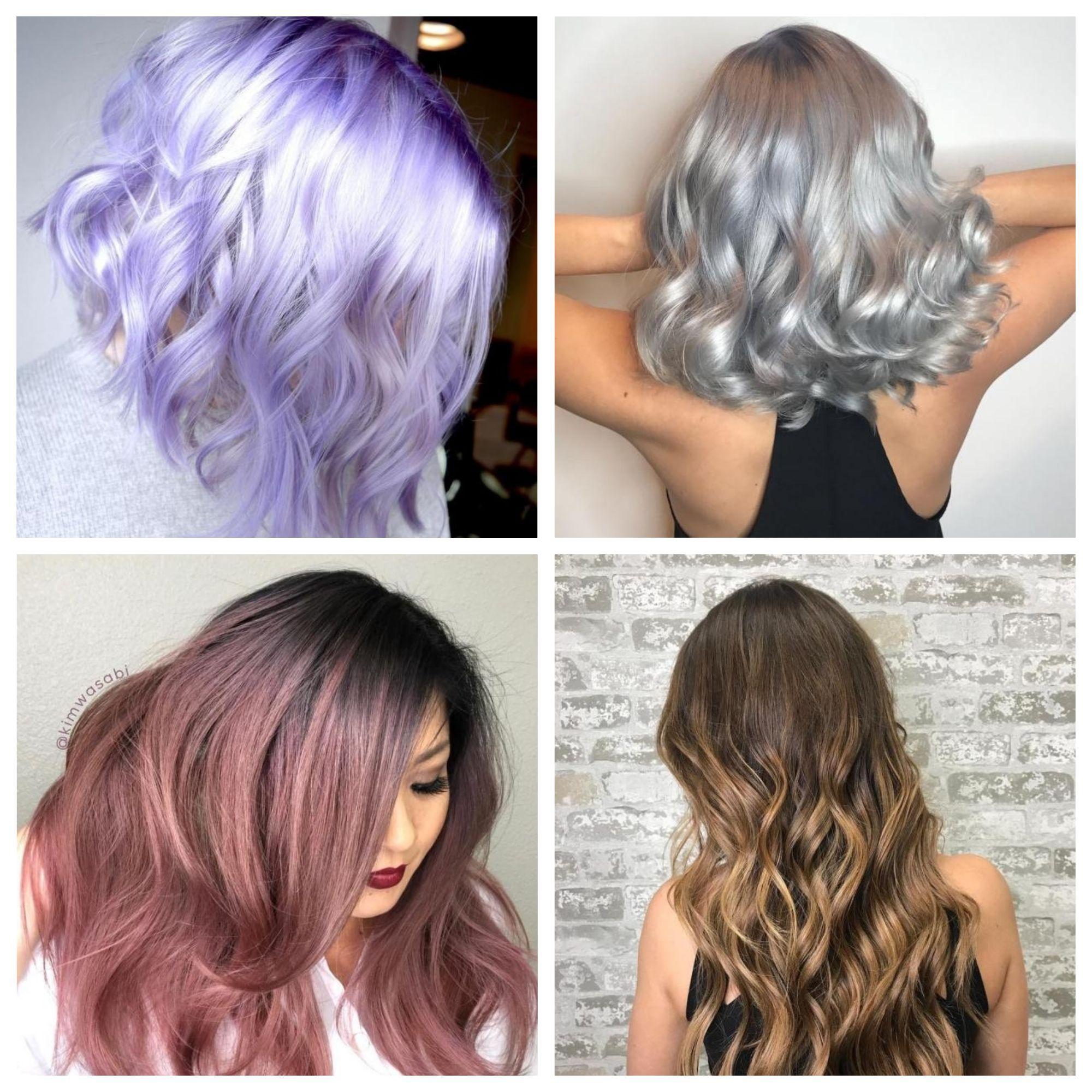Sinnliche Metallische Haarfarben Fur Den Herbst Beauty Einfache