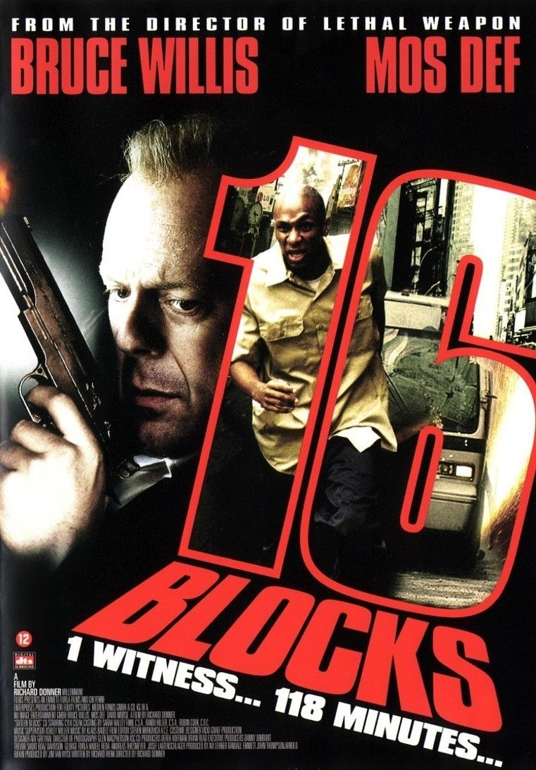 16 Blocks Pelicula Video Game Covers Online Streaming Hd Streaming