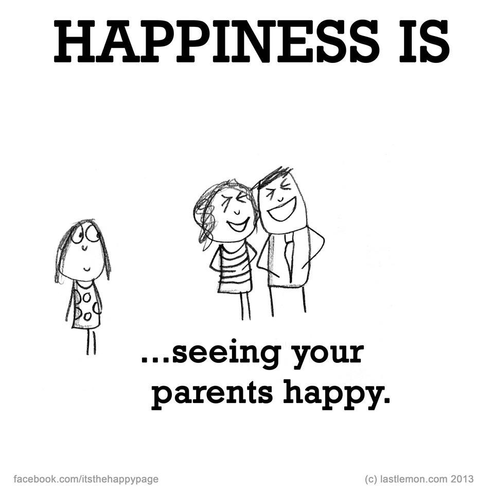 happiness is seeing your parents happy ♥ happy quotes cute