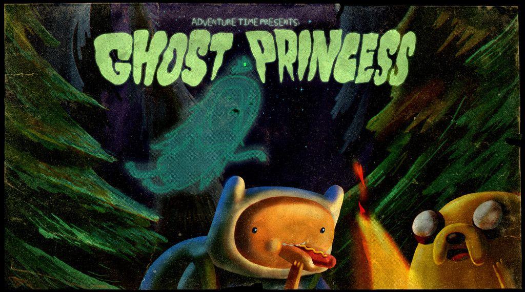 La Princesa Fantasma Hora De Aventura Arte De Adventure Time Aventura