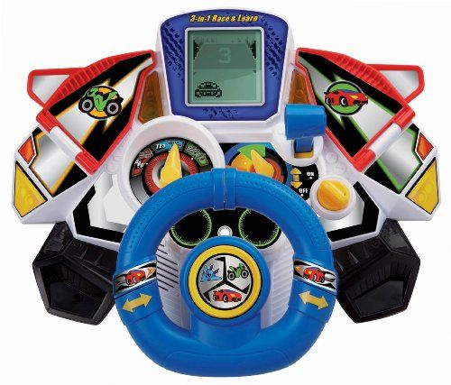 VTech 3-in-1 Race and Learn Toy. Featuring 3 ways to play ...