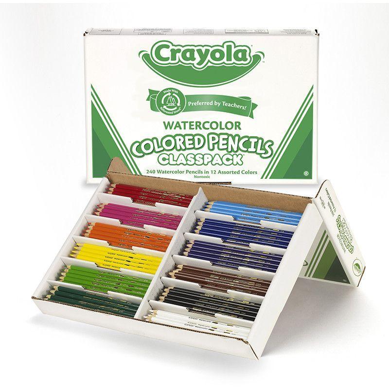 Crayola Watercolor Pencil 240 Ct Crayola Colored Pencils