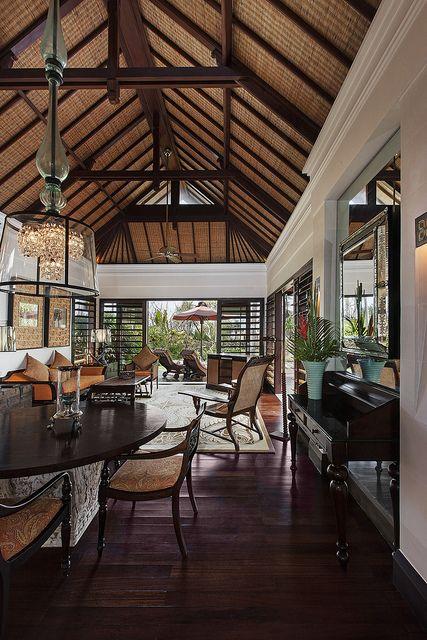The St Regis Bali Resort Strand Villa Living Room Bali House