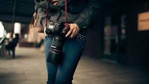 Resultado de imagem para câmera fotográfica DSLR
