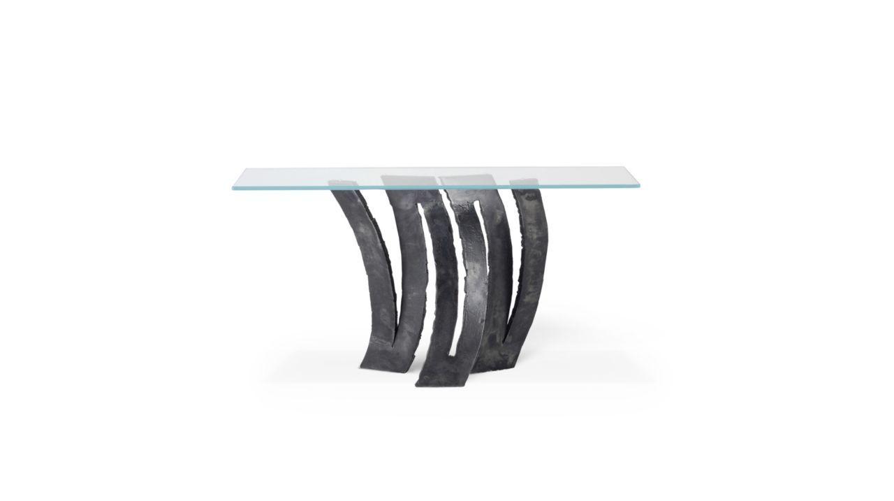 Roche Bobois | FLEUR DE FER console | designed by Maurice Barilone ...