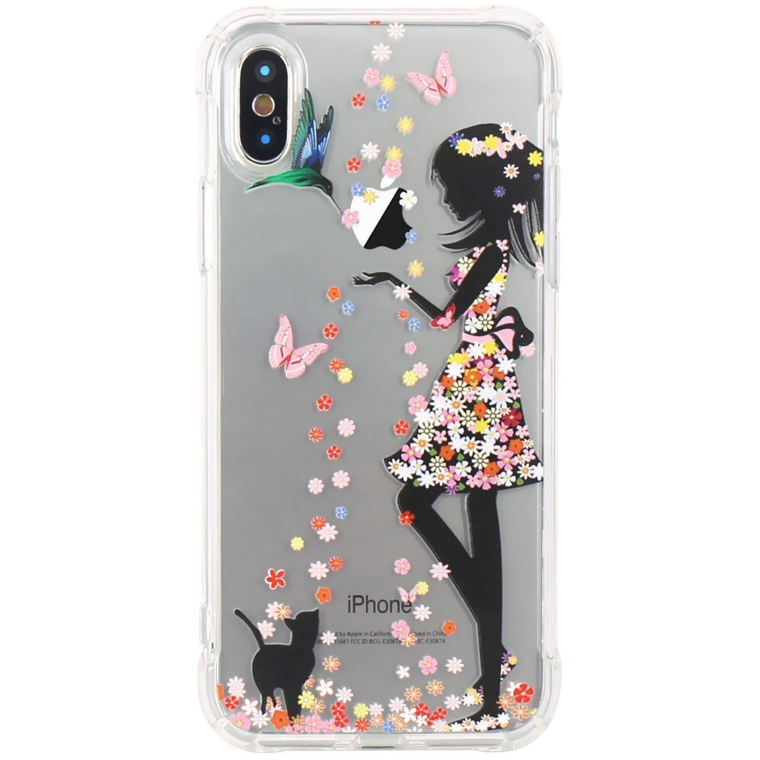 sale retailer 06a9e 4b07f LADY DANCING Cute New Clear Cell Phone Case Cover Accessories For ...
