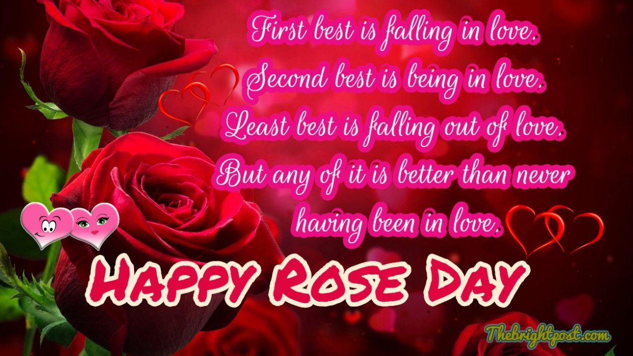 Download Romantic Rose Day Cards Happy Rose Day Happy Rose Day Images Rose Day Wishes