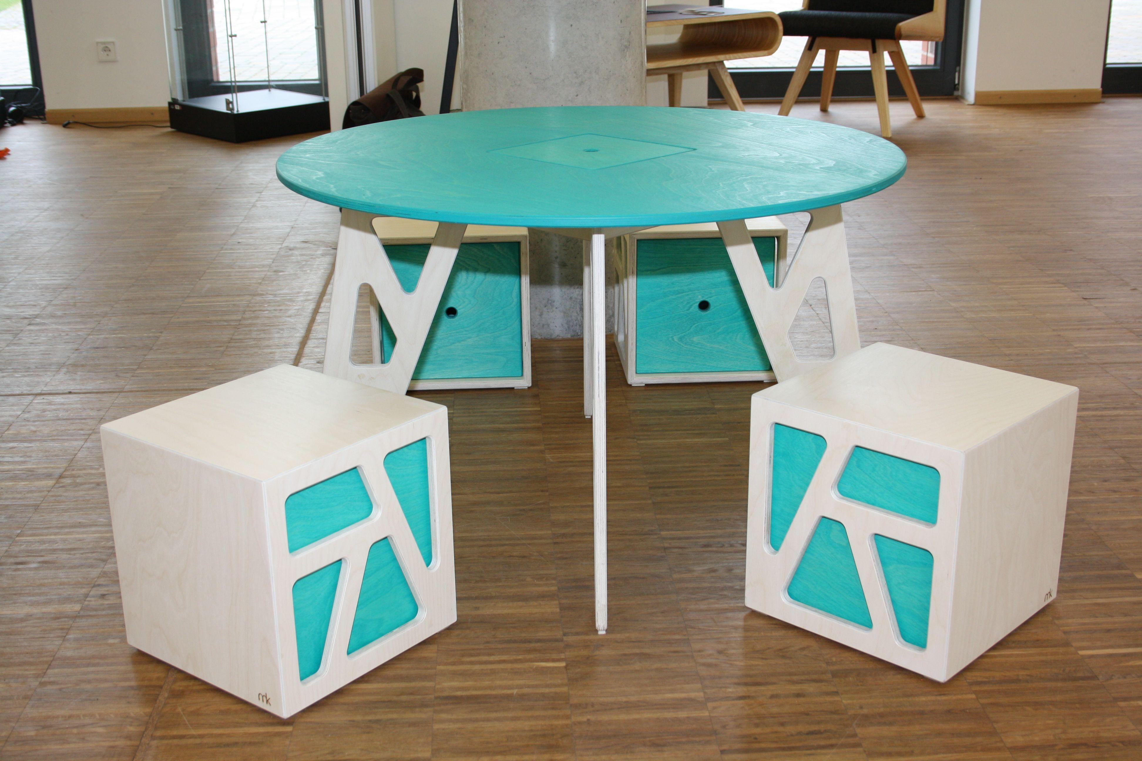 martin kr nzel tischler spieltischgruppe fix foxy 2 tischgruppe f r kinder ab 2 jahren. Black Bedroom Furniture Sets. Home Design Ideas