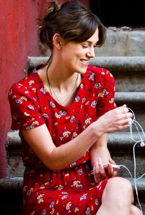 Keira Knightley, Retro Red Dress