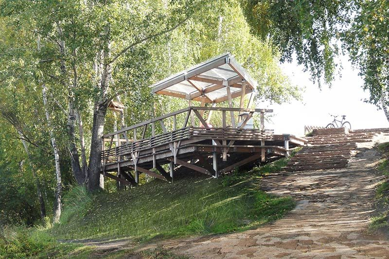 The riverside terrace on Tatyshev Island / OOO \u201cADM\u201d idées