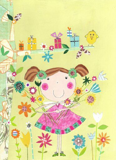 Flower fairy The pope twins freelance illustrators advocate art