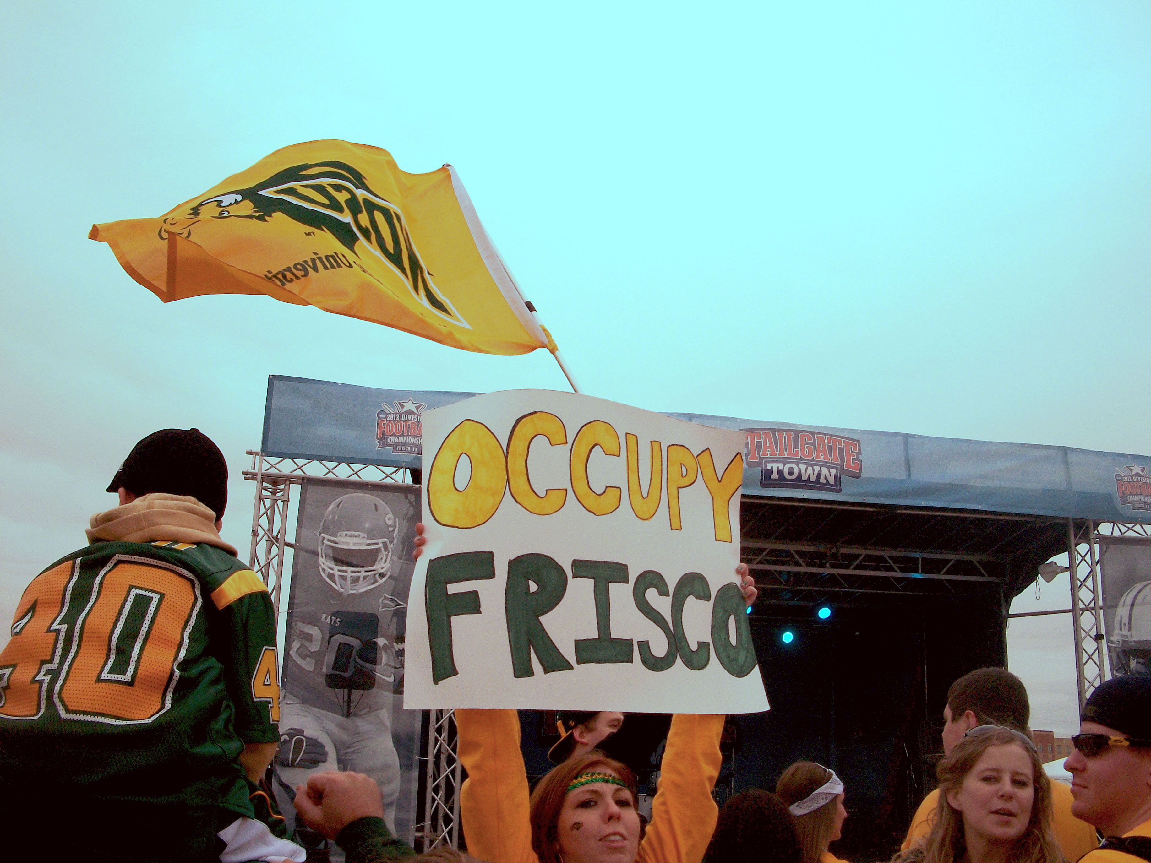 North Dakota State University Bison In Frisco Tx For The Ncaa Fcs National Championship Fargo North Dakota State University Frisco National Championship