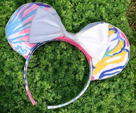 Swept By The Tides Lilly Inspired Minnie Ears
