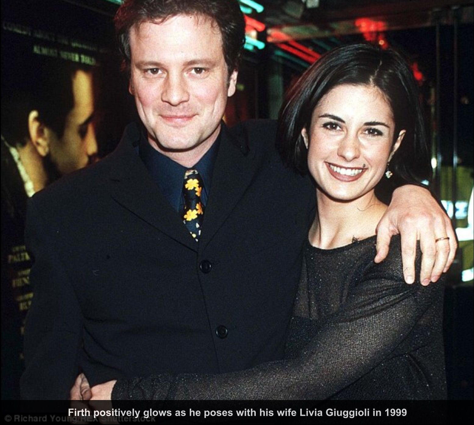Mr. and Mrs. Colin Firth