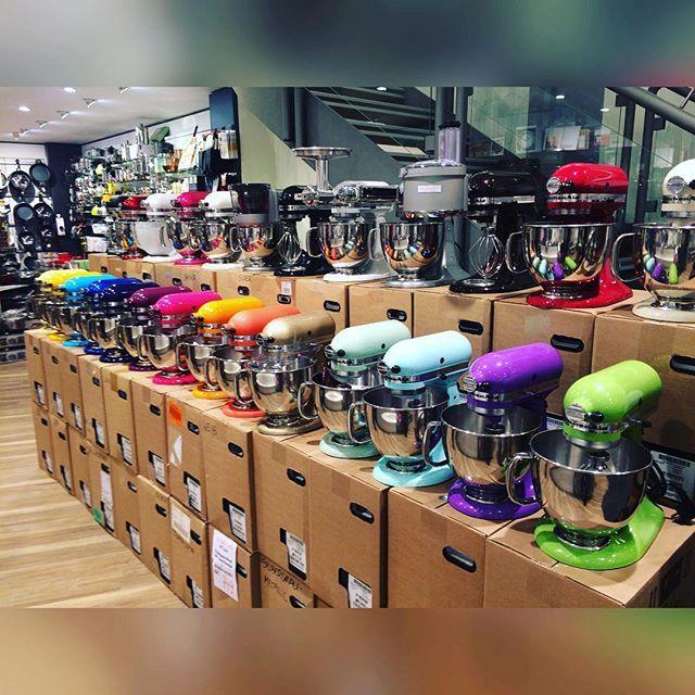 kitchenaid #artisan #küchenmaschine #regenbogen #farbvielfalt - kochen mit küchenmaschine