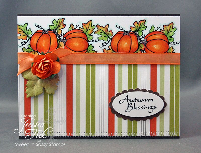 Autumn Bounty stamp set
