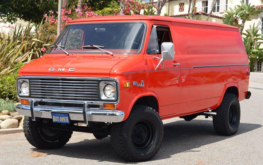 Ready To Play 1977 Gmc Vandura 4x4 Gmc Vans 4x4 Van Chevy Van