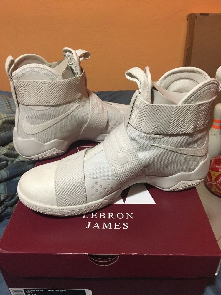huge selection of 0517a 53f2e NIKE LEBRON SOLDIER 10 SFG LUX BASKETBALL SHOES NEW MEN S SIZE 11  fashion   clothing  shoes  accessories  mensshoes  athleticshoes  ad (ebay link)