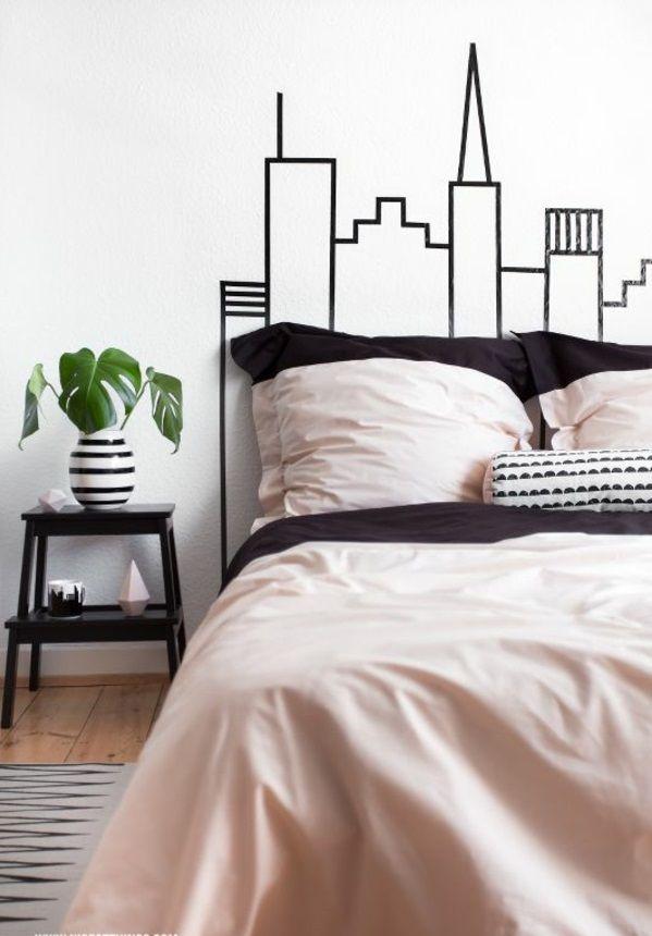 30 Ideen für Bett Kopfteil - märchenhafte und kunstvolle Beispiele - kopfteil fur das bett diy ideen