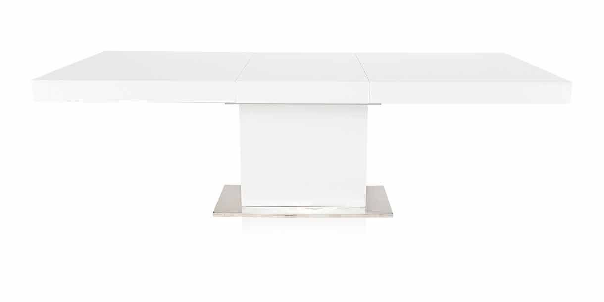 Palerma Extendable Dining Table White Extendable Dining Table Dining Table Dining