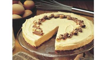 No-Bake Peanut Butter 'n Chocolate Cheesecake