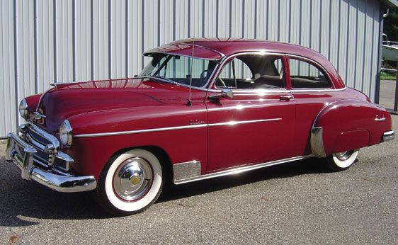 1950 Chevrolet Styleline Deluxe Two Door Sedan & 1950 Chevrolet Styleline Deluxe Two Door Sedan | Vehicles ...