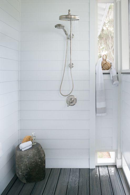 Reu Architects deckspatios outdoor shower outdoor shower