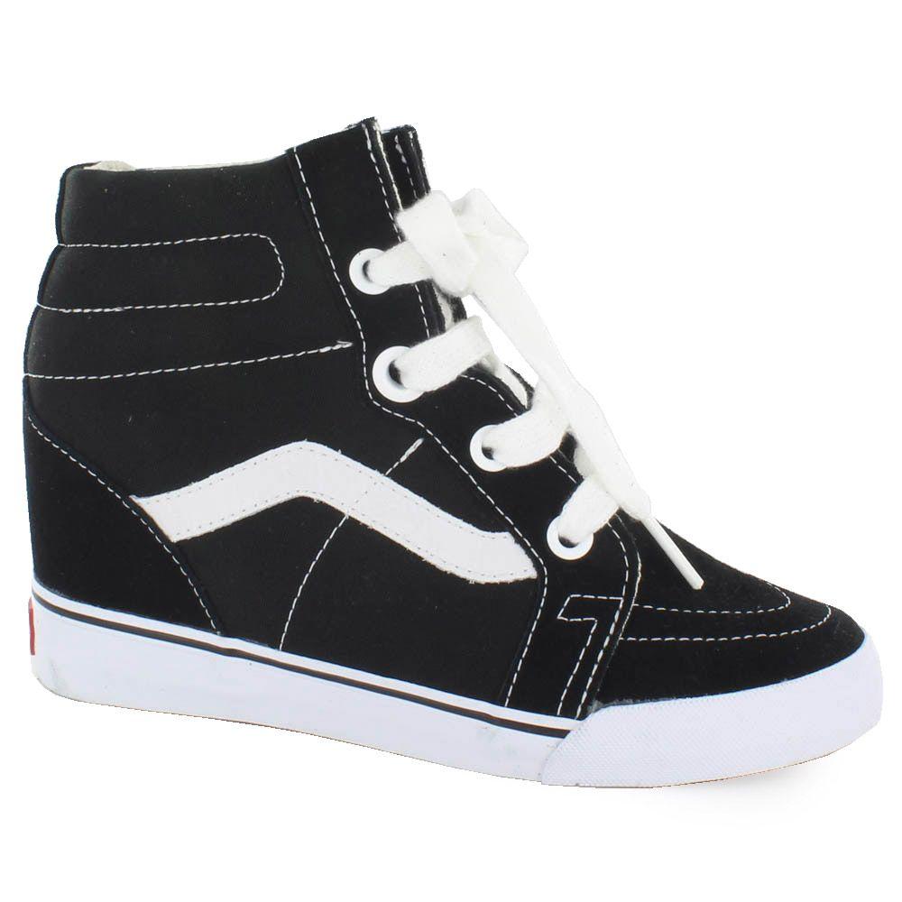Zapatilla de la marca vans con cu a interior y suela de goma just vans marca vans cunas y - Sneakers cuna interior ...