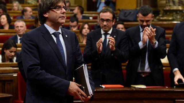 Catalogne: un référendum d'indépendance en 2017