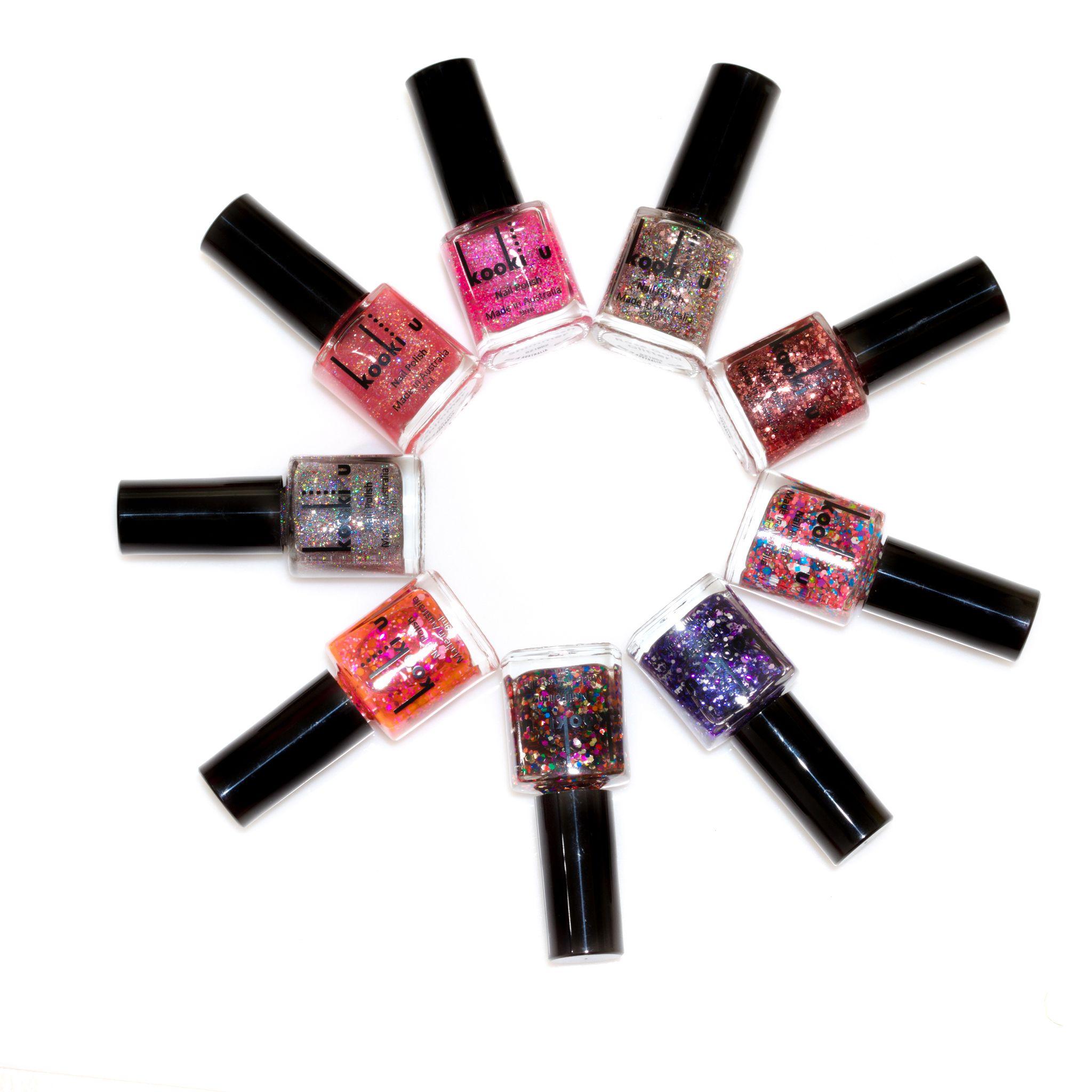 Glitter nails anyone? kookiu kookiuaustralia cosmetics