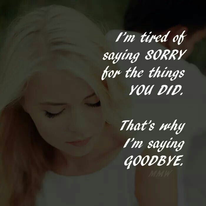 Pin by Zainab Mohamed on Quotes | Saying sorry, Sayings ...
