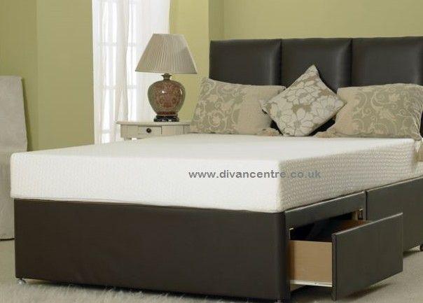 Premium Cream Crushed Velvet 6ft Super King Size Divan Bed Base Only