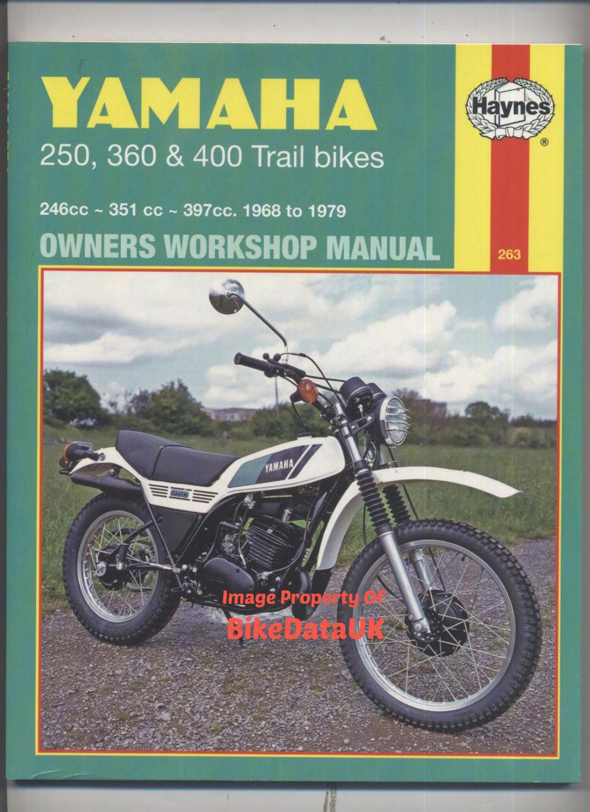 Yamaha DT250MX 1968 1979 Haynes Manual DT400MX DT250 DT400 DT360 DT 250 400  MX | eBay