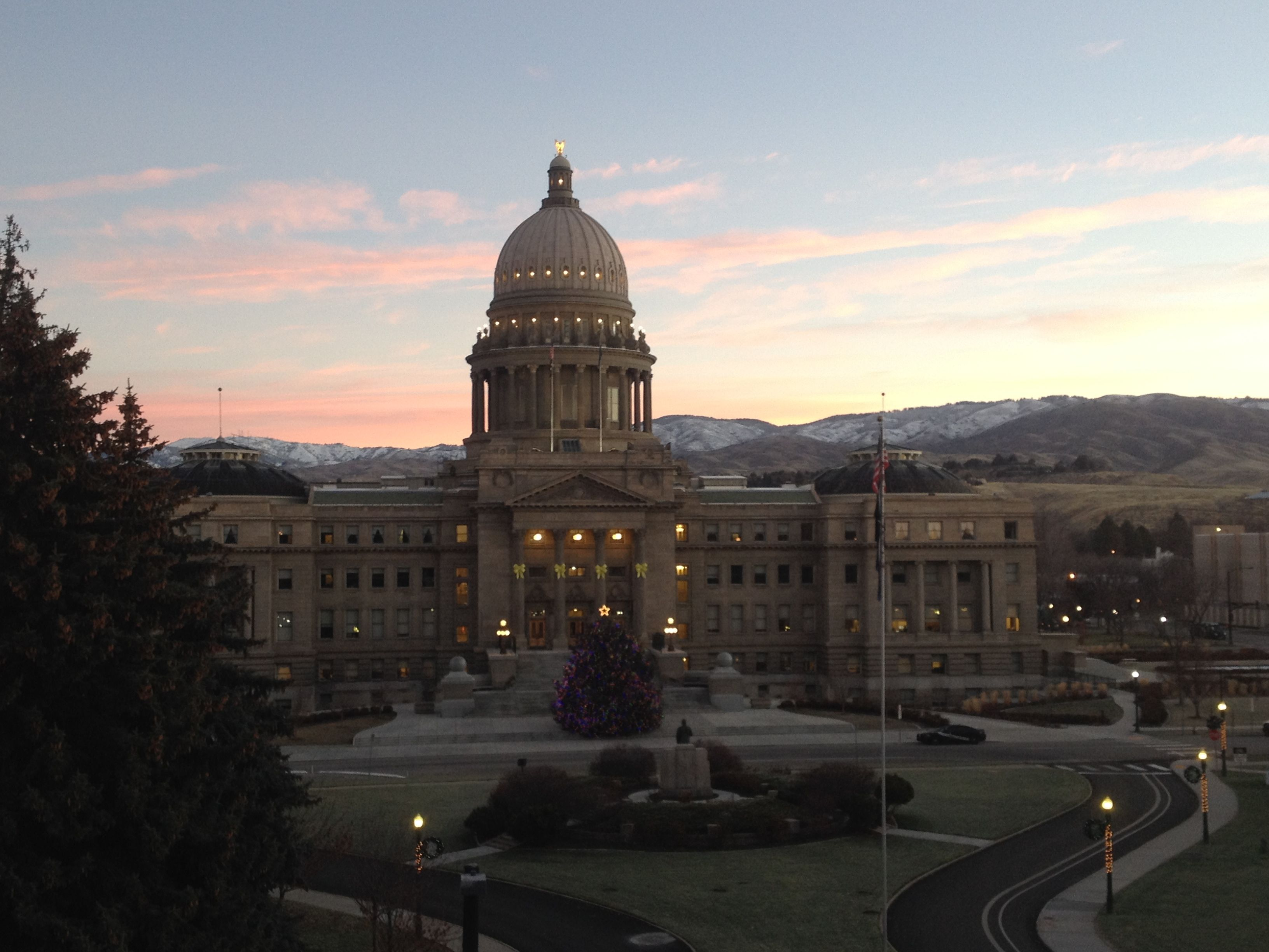 Idaho State Capitol ~ Photo credit: Mitch Knothe