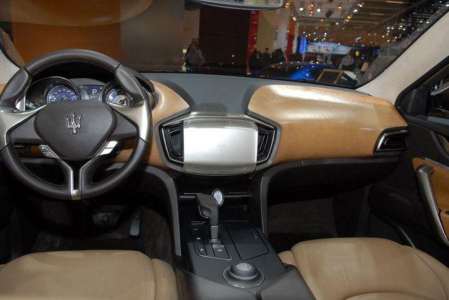 Maserati Kubang Concept interior