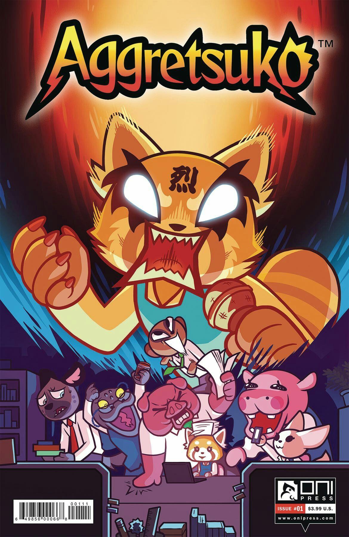 Aggretsuko in 2020 Comics, Oni press, Comic book collection