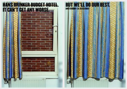 Hans Brinker Budget El Peor Hotel Del Mundo Que Hace Gala De Ello En Su Publicidad Hotel Publicidad Hoteles