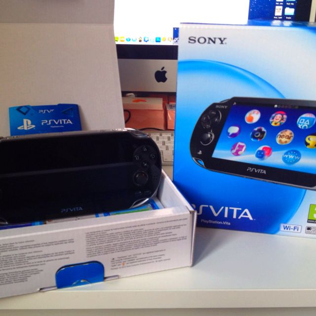 I just receive my PS Vita
