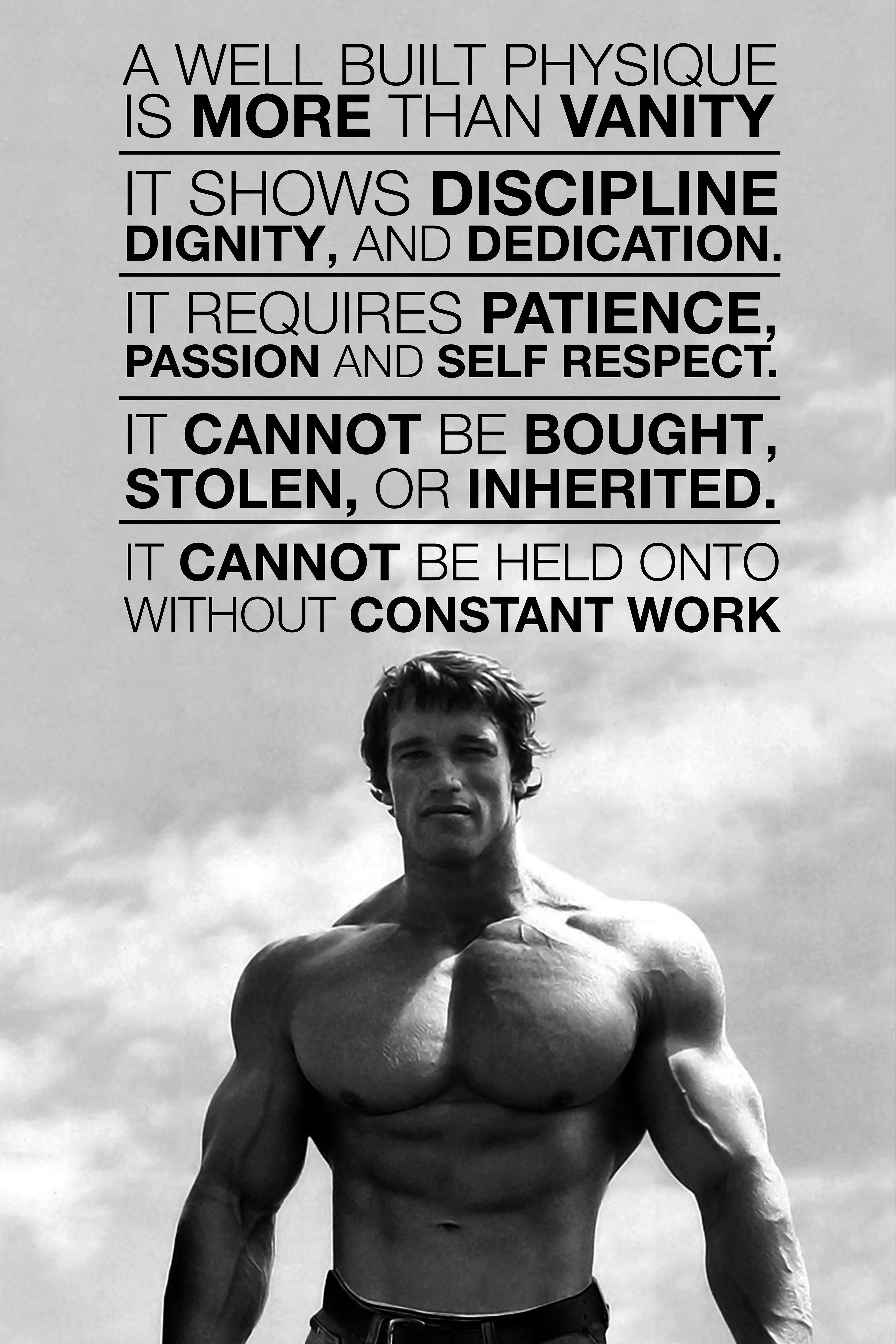 Image Inspirational Arnold Poster Bodybuilding Motivation Quotes Arnold Schwarzenegger Quotes Bodybuilding Quotes