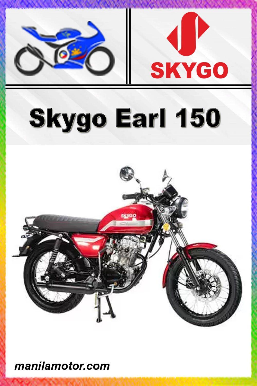 Skygo Earl 150 Price In Philippines In 2021 Gasoline Engine Manual Transmission Bike