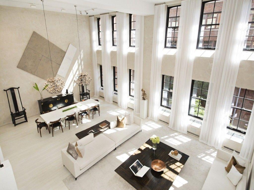 5 Luxurious Loft Living Spaces