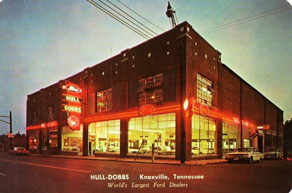 1960 S Hull Dobbs Ford Dealership Knoxville Tennessee
