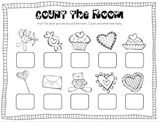 Mrs. Ricca's Kindergarten: February Centers + FREEBIE